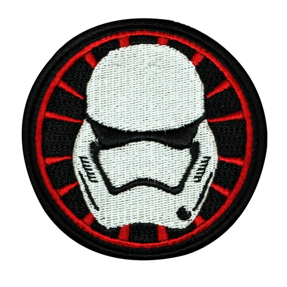 Disney Star Wars Stormtrooper Helmet Patch Officially Licensed Iron-On Applique