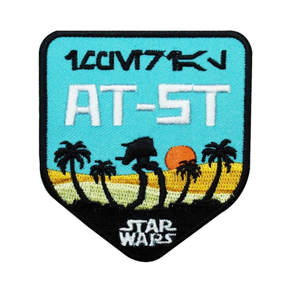Disney Star Wars Walker AT-ST Emblem Patch Officially Licensed Iron-On Applique