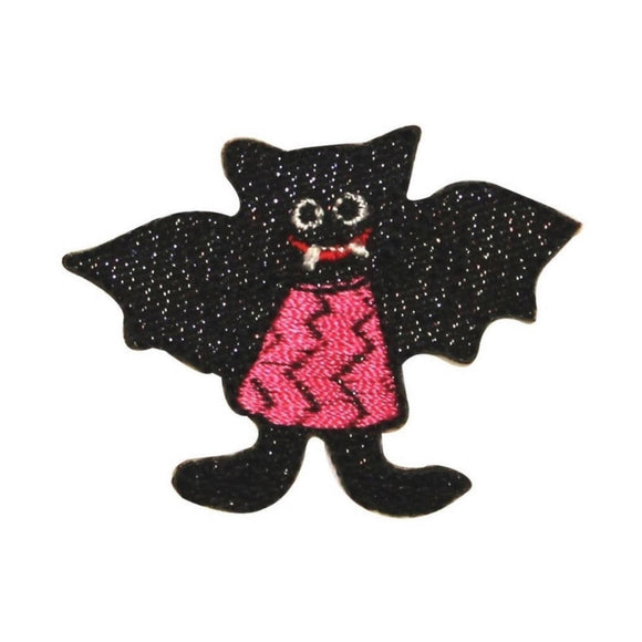 ID 0929 Vampire Bat Girl Patch Halloween Costume Embroidered Iron On Applique