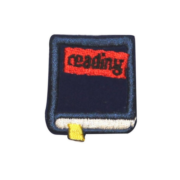 ID 0987A School Reading Book Patch English Class Embroidered Iron On Applique