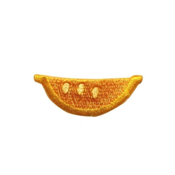 ID 1209C Slice of Lemon Patch Summer Fruit Food Embroidered Iron On Applique