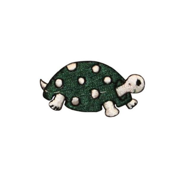 ID 0729D Cartoon Spotted Turtle Patch Cute Shell Embroidered Iron On Applique