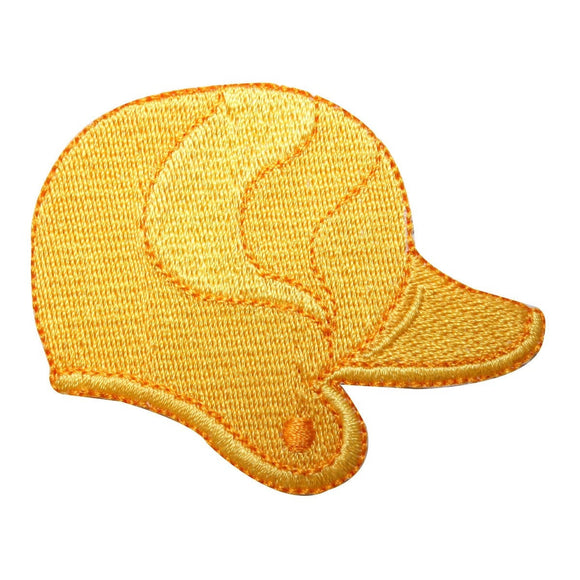 ID 1589B Batting Helmet Patch Baseball Softball Bat Embroidered Iron On Applique
