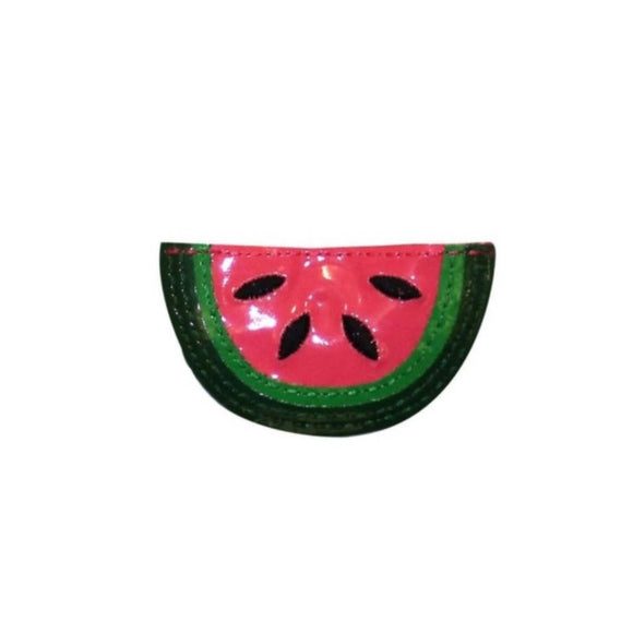 ID 1235B Watermelon Symbol Patch Fresh Fruit Summer Snack Vinyl Iron On Applique