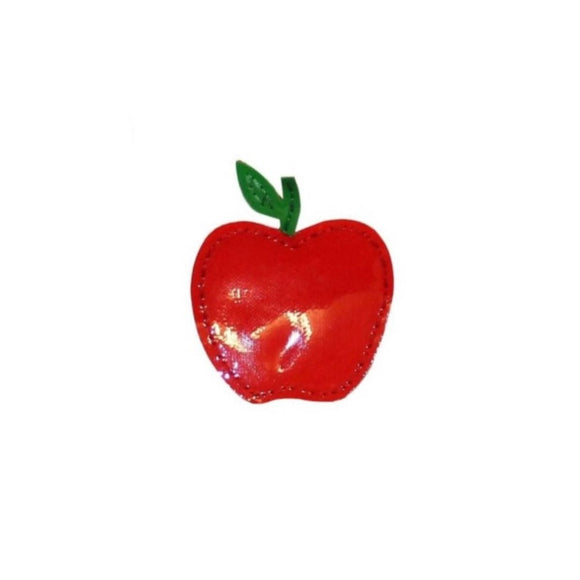ID 1235E Apple Symbol Patch Fresh Fruit Summer Snack Vinyl Iron On Applique