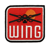 Disney Star Wars The Last Jedi X Wing Patch Rebel Spaceship New Movie Iron On