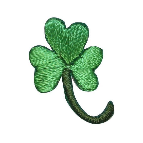ID 3314 Lot of 3 Three Leaf Clover Patch St Patrick Embroidered Iron On Applique