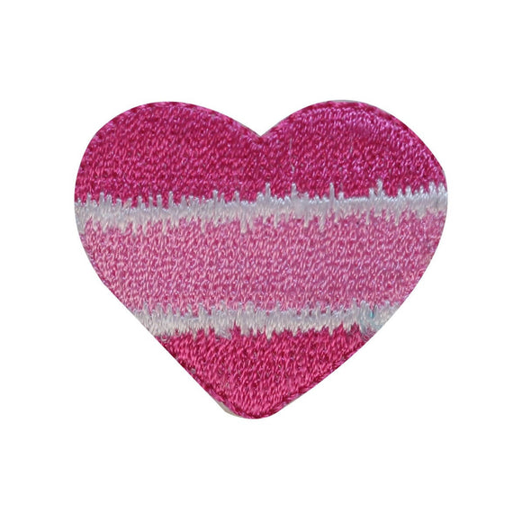ID 3285A Candy Heart Patch Valentines Day Love Sweet Embroidered IronOn Applique