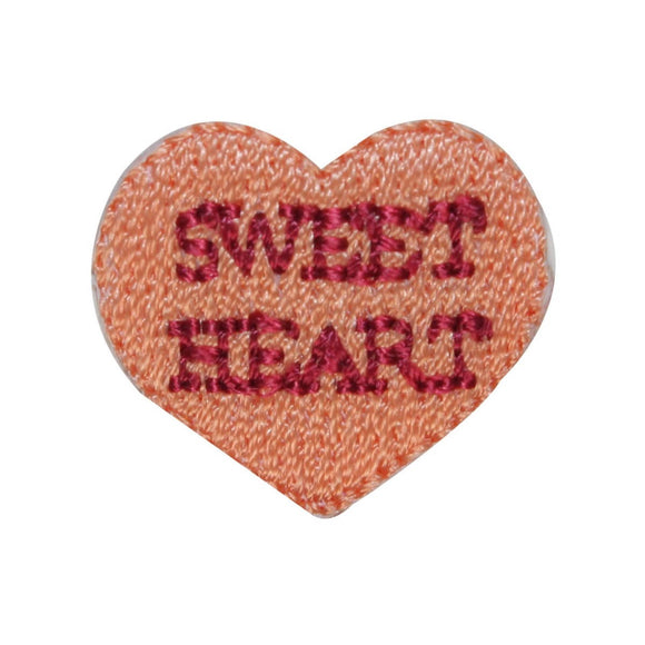 ID 3298E Sweet Heart Valentine Candy Patch Love Embroidered Iron On Applique
