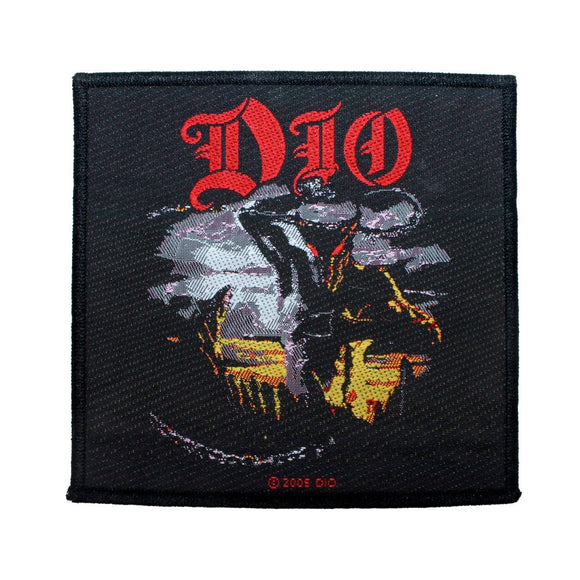 Dio Murray Patch Holly Diver Heavy Metal Band Ronnie James Music Sew On Applique