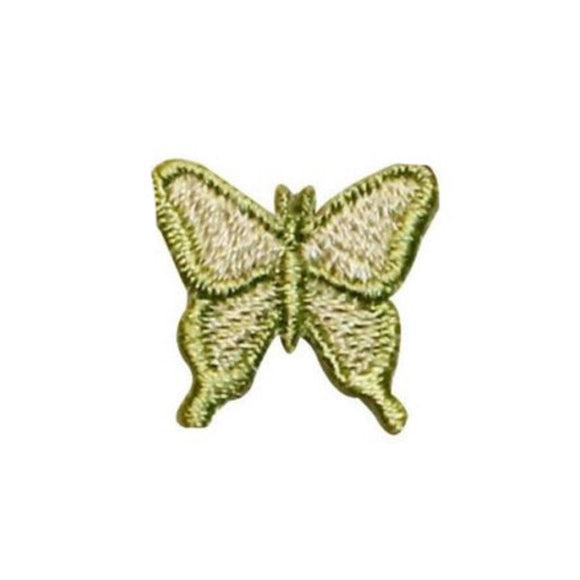 ID 2336 Lot of 3 Forest Butterfly Patches Insect Embroidered Iron On Applique