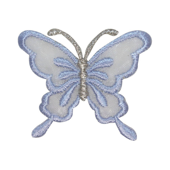 ID 2338 Lace Butterfly Patch Garden Fairy Insect Embroidered Iron On Applique