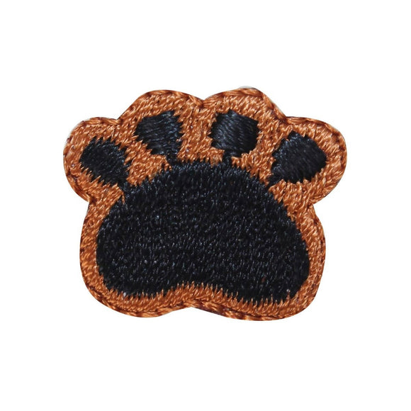 ID 2857 Lot of 3 Dog Paw Print Patch Puppy Pet Embroidered Iron On Applique