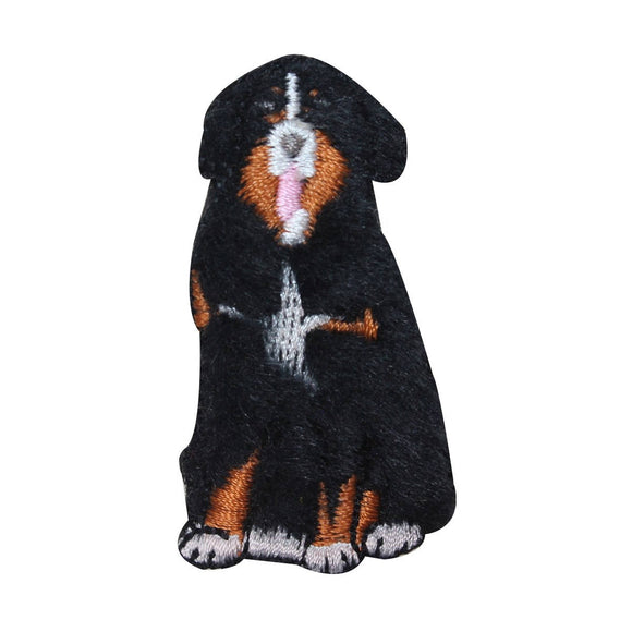 ID 2862C Fluffy Collie Dog Patch Furry Pet Animal Embroidered Iron On Applique