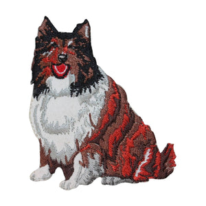 ID 2780 Boarder Collie Dog Patch Pet Puppy Breed Embroidered Iron On Applique