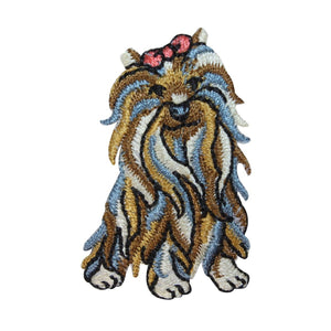 ID 2787 Shih Tzu Toy Dog Patch Breed Pet Puppy Embroidered Iron On Applique