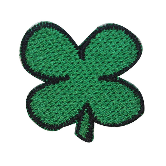 ID 3311 Four Leaf Clover Patch ST Patrick's Lucky Embroidered Iron On Applique