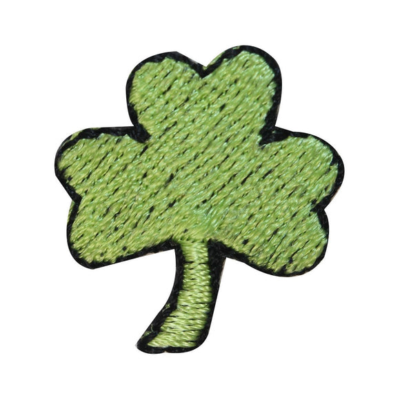 ID 3315 Lot of 3 Three Leaf Clover Patch St Patrick Embroidered Iron On Applique