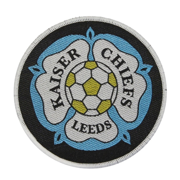 Kaiser Chiefs Leeds Football Logo Patch Indie Rock Band Woven Sew On Applique