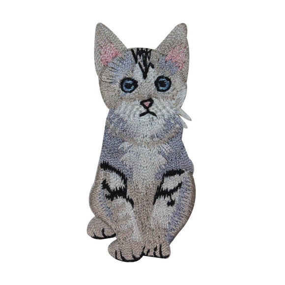 ID 3002 Kitty Cat Patch Kitten Cat Cute Baby Pet Embroidered Iron On Applique