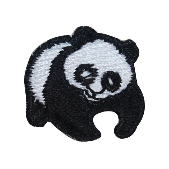 ID 3071z Cute Panda Cub Patch China Bear Animal Embroidered Iron On Applique