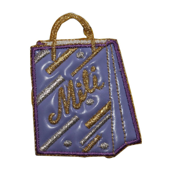 ID 8374 Vinyl Mili Shop Bag Patch Store Fashion Embroidered Iron On Applique