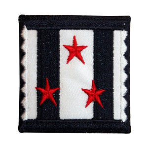 ID 8980 Stars Stripes Badge Patch Patch Patriotic Embroidered Iron On Applique