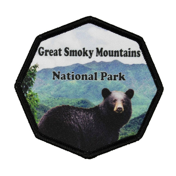 Great Smoky Mountains National Park Patch Travel Sublimation Iron On Applique