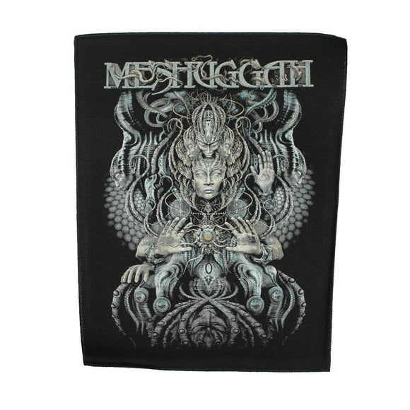 XLG Meshuggah Musical Deviance Back Patch Metal Music Jacket Sew On Applique