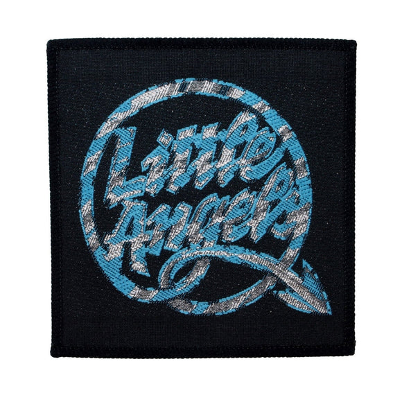 Little Angels Band Logo Patch English Hard Rock Music Woven Sew On Applique