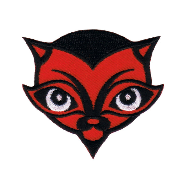 Chico Von Spoon Devil Cat Patch Artist Satan Evil Embroidered Iron On Applique