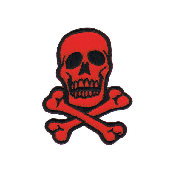 Skull Crossbones Patch 2 3/4