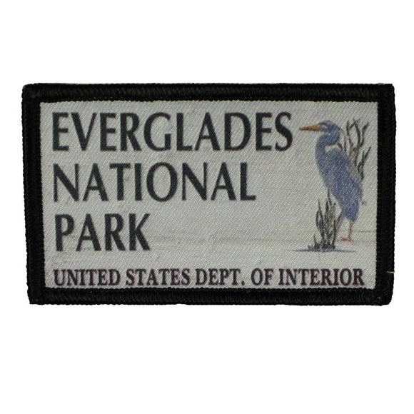 Everglades National Park Sign Patch Travel Badge Sublimation Iron On Applique