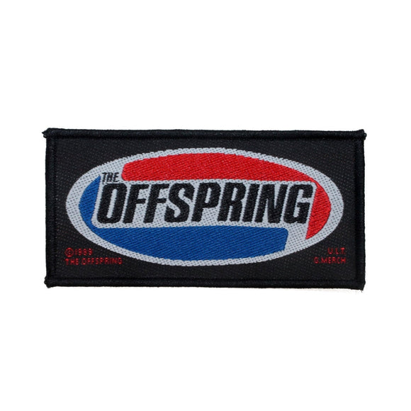 The Offspring Name Logo Patch Punk Rock Band Music Jacket Woven Sew On Applique