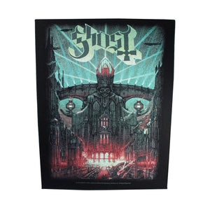 XLG Ghost Meliora Back Patch Album Art Rock Band Fan Jacket Sew On Applique
