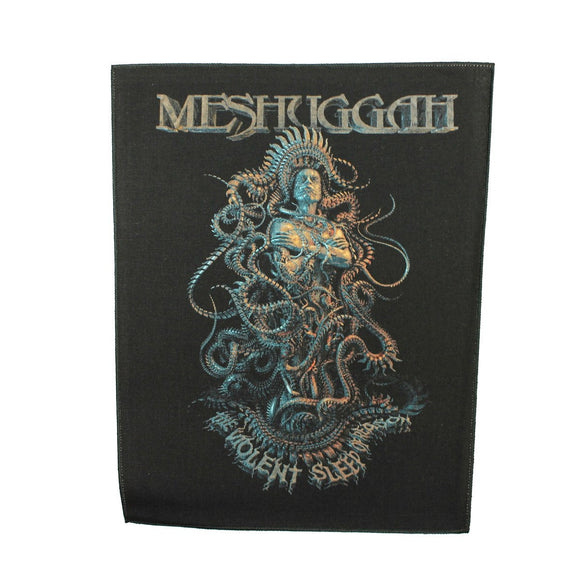XLG Meshuggah Violent Sleep of Reason Back Patch Album Jacket Sew On Applique