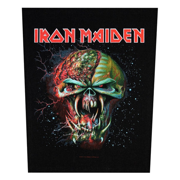 XLG Iron Maiden The Final Frontier Face Back Patch Rock Jacket Sew On Applique