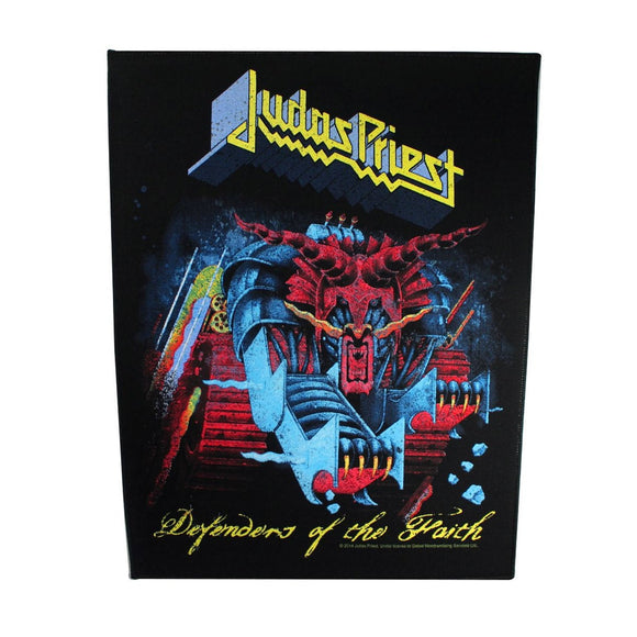XLG Judas Priest Defenders of the Faith Back Patch Album Art Fan Sew On Applique
