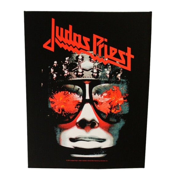 XLG Judas Priest Killing Machine Back Patch Album Art Fan Jacket Sew On Applique