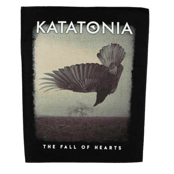 XLG Katatonia Fall of Hearts Back Patch Album Metal Band Jacket Sew on Applique