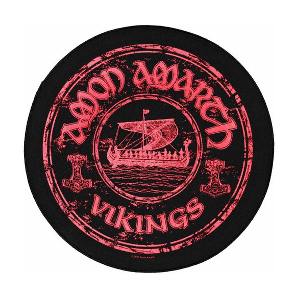 XLG Amon Amarth Vikings Back Patch Circular Swedish Music Band Sew On Applique