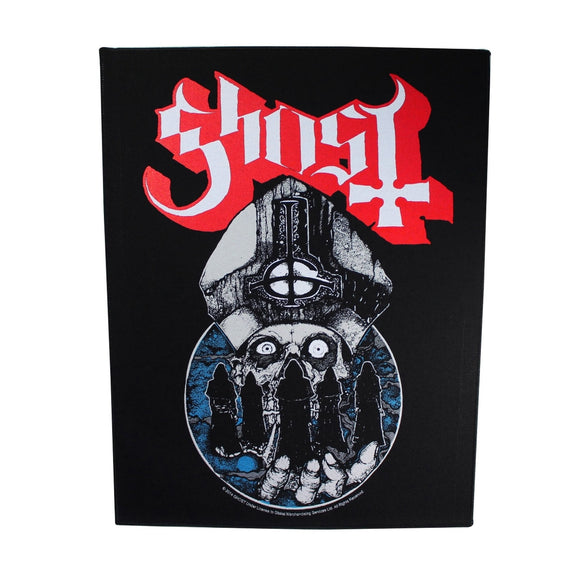 XLG Ghost Papa Emeritus & The Nameless Ghouls Back patch Artwork Sew On Applique