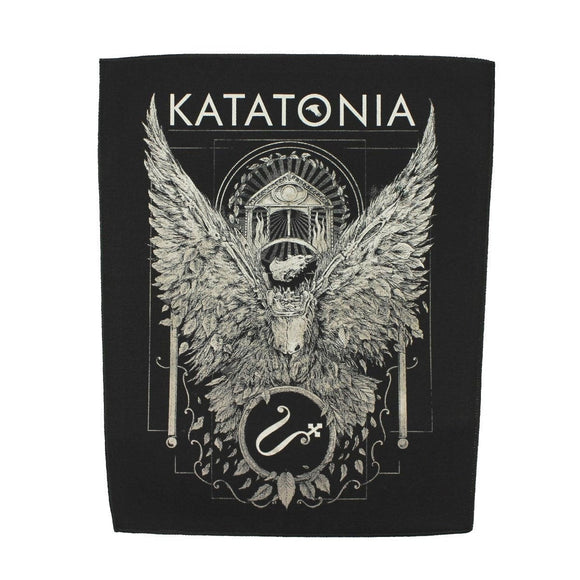XLG Katatonia Temple Back Patch Death Metal Band Music Jacket Sew on Applique