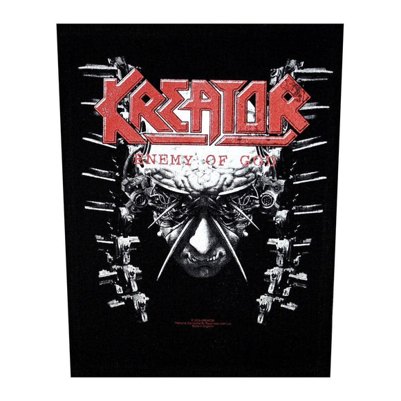 XLG Kreator Enemy of God Back Patch Album Art Thrash Metal Music Sew On Applique