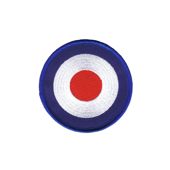 2 INCH Mod Target Patch Shooting Bulls Eye Embroidered Iron On Applique