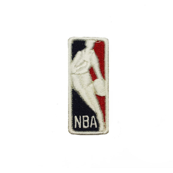 Classic NBA Logo Patch Teams Sports Net Basketball Embroidered Iron On Applique
