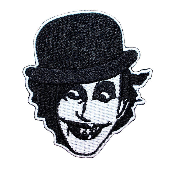 The Adicts Joker Face Logo Patch Songs of Praise Album Art Band Iron On Applique