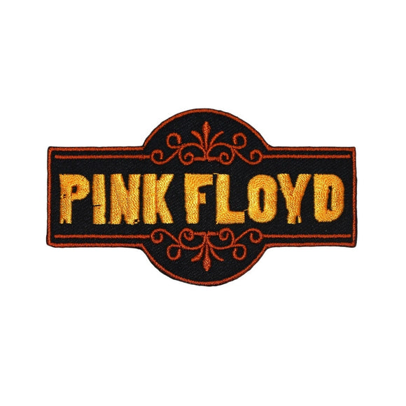 Pink Floyd Fancy Band Logo Patch English Rock Music Embroidered Iron On Applique