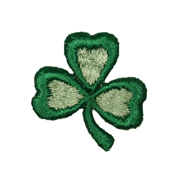 3 Leaf Clover ST Patrick's Day Patch Shamrock Luck Embroidered Iron On Applique