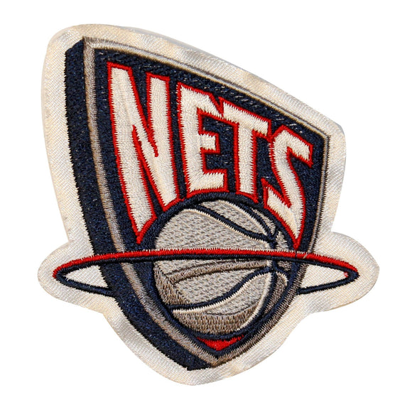 Classic Brooklyn Nets Logo Patch Sports Basketball Embroidered Sew On Applique